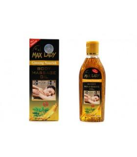 روغن ماساژ جینسینگ مکس لیدی |Body Massage Oil Max Lady