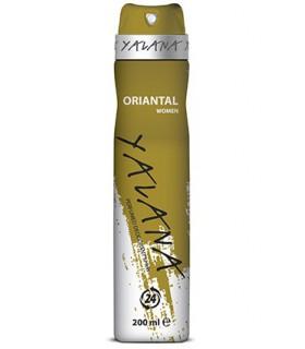 اسپری خوشبو کننده زنانه یالانا مدل Oriantal