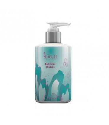 لوسیون مرطوب کننده صورت و بدن CHARISMA سی گل مناسب پوست های خشک